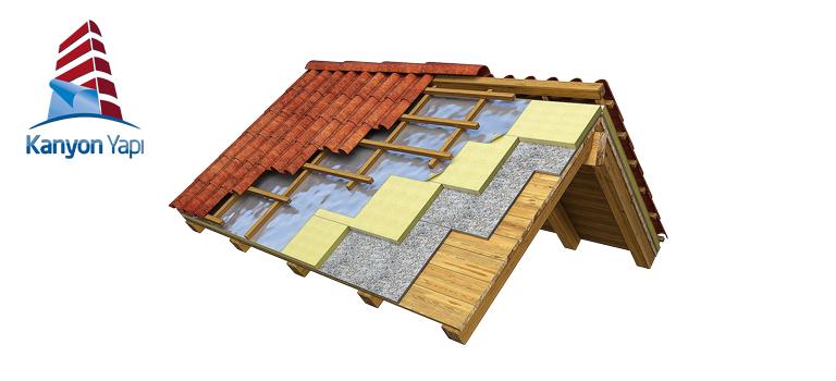 Teras ve Çatılarda Yalıtım Uygulamaları