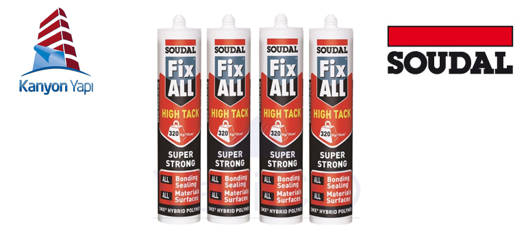 Soudal Fix All High Tack 290 ml Kartuş En Uygun Fiyat